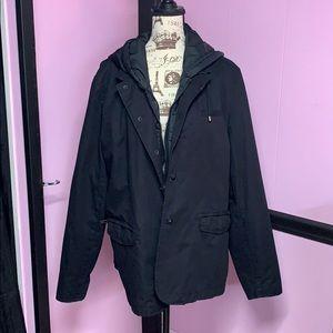 Men's DKNY black jacket size XL
